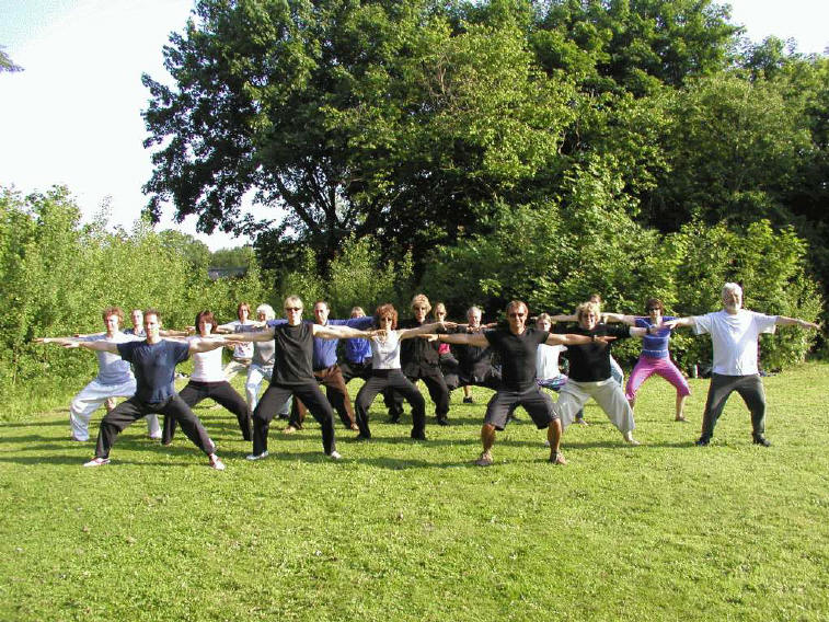 training qigong